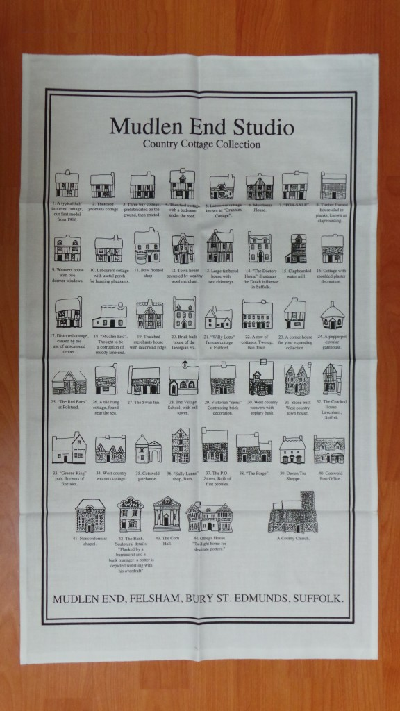 Mudlen End Tea towel